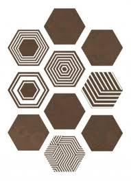 Коричневая <b>керамическая плитка ITT</b> Ceramic