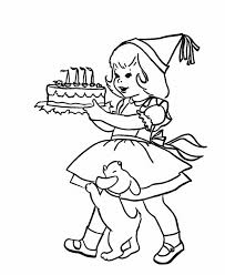 Small Picture Boy And Girl Free Birthday Coloring Pages Birthday Coloring