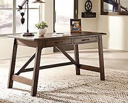 Office home desk Design Large Baldridge Home Office Desk Rollover Desks Ashley Furniture Homestore Desks Ashley Furniture Homestore