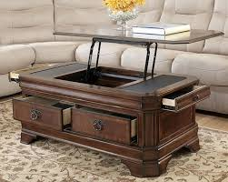 charming coffee table lift top in craftsman riverside frontroom furnishings