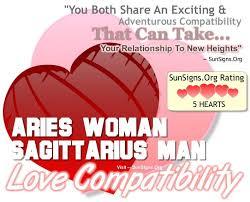 Aries Woman Sagittarius Man A Fiery Relationship