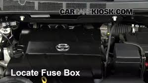 replace a fuse 2011 2015 toyota sienna 2011 toyota sienna xle replace a fuse 2011 2015 toyota sienna 2011 toyota sienna xle 3 5l v6