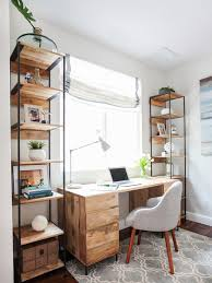 neutral home office ideas.  Home Neutral Home Desk Placed Against The Window For Natural Light And Home Office Ideas A