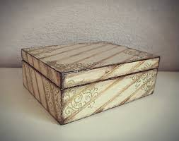 How To Decorate Wooden Boxes How to decorate a wooden box decoupage YouTube 1