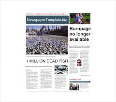 Newspaper Template No Download 14 Word Newspaper Templates Free Download Free Premium Templates