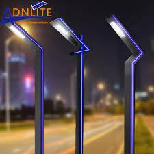 design led pole light for garden lighting