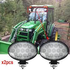 Ferguson Tractor Lights Us 72 68 8 Off Pair Led Agriculture Tractor Lights Oval 39w Flood Beam For John Deere Case Ih Massey Ferguson Floodlamp 12v 24v Led Work Lights In