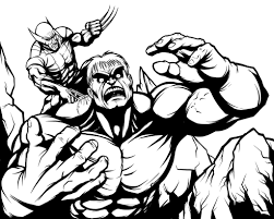 Small Picture wolverine coloring pages 8 ColoringPagehub