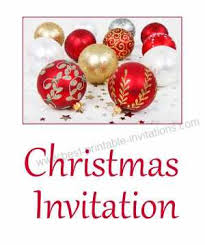 Printable Holiday Party Invitations Free Printable Christmas Party Invitations