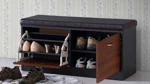 Image of: Bench with Shoe Storage Style