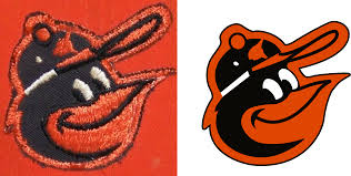 Baltimore Orioles Cartoon Bird Cap Logos | The Cartoon Bird