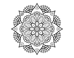 Disegno Di Mandala Fiore Di Primavera Da Colorare Acolorecom