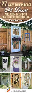27 whimsical old door outdoor decor ideas that will transform your exterior