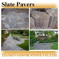 Crazy Slate Patio Pavers Lowes Buy Slate Slate Pavers Irrugular