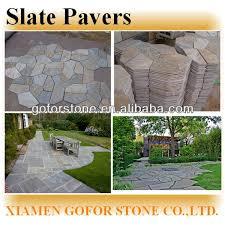 Crazy Slate Patio Pavers Lowes Buy Slate Slate Pavers Irrugular
