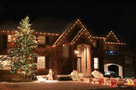 White Or Colored Christmas Lights On House Moon Light Holiday Lighting Multi Colored Led Roofline