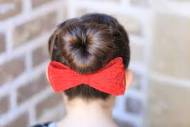 Sock Bun Hair Style how to create a love bun valentines day hairstyles cute girls 8865 by wearticles.com