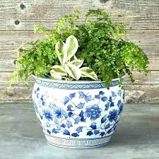 large ceramic garden pot blue and white plant pots hamilton nz glazed o garden flower pots stone carving outdoor