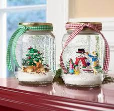Christmas Decorated Mason Jars Anyone Can Decorate DIY Holiday Craft Mason Jar Snowglobes 88