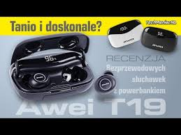 <b>Awei T19</b> - Słuchawki z ogromną baterią | Recenzja #40 - YouTube