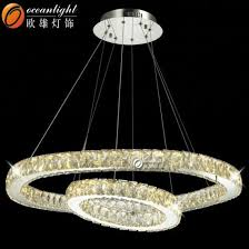 modern luxury led crystal chandelier hanging round lamp om88595 800 400