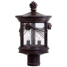 abbey lane outdoor post mounted lantern