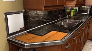 granite tile kitchen countertops pictures