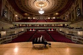 Eastman Kodak Theater Seating Chart Kodak Hall At Eastman Theatre Eastman School Of Music