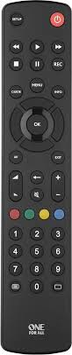 <b>One For All</b> Contour TV URC1210 Black, <b>пульт</b> ДУ <b>универсальный</b> ...