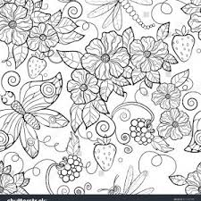 Butterfly And Rose Coloring Pages Valid Floral Coloring Page