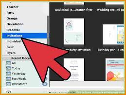 9 Creating Invitations In Microsoft Word Grittrader