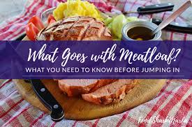 All in all, this paleo turkey meatloaf is rather healthy and a little different from the usual meatloaf offering. What Goes With Meatloaf Food Shark Marfa