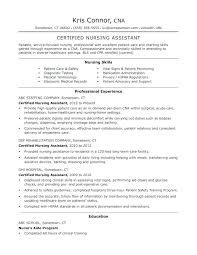 Resumes For Nursing Nursing Assistant Resumes Similar Posts Example ...