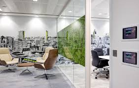 office design online. Online Office Design Tool. Survey Monkey Offices - London Skyline Mural With Green Accents