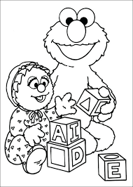 Free Printable Sesame Street Coloring Pages Sesame Street Color Free