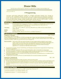 Shell Scripting Resume Sample Best Of Programming Skills Resume Resume Sample It Programmer24 Sample