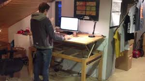 Demo 1 - DIY / Liftable / Stand-up / Rising - Desk / Table @ Asketic Labs -  YouTube