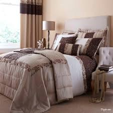 bedroom comforter and curtain sets 2017 duvet curtains images bedding earthy toned interior with cream brown of also for inspirations