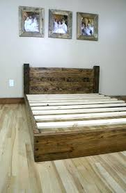 homemade bed frames bed frame ideas where to begin from diy king bed frame  plans