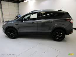 ford escape 2017 black. 2017 escape se - magnetic / charcoal black sport appearance photo #6 ford c