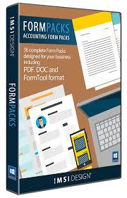 Accounting Form Packs Turbocad Via Imsi Design