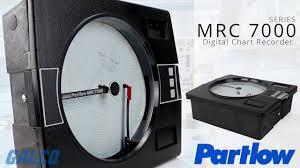 Partlow Mrc 5000 Circular Chart Recorder Partlows Mrc 7000 Series Digital Chart Recorder
