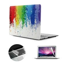 Macbook Air 13 Inch Case Designer Se7enline A1369 A1466 Macbook Air Case Designer Art Pattern Frosted Hard Shell Cover For Macbook Air 13 Inch With Clear Silicone Keyboard Skin And