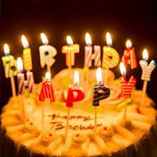 <b>Набор</b> свечей в полоску для торта <b>Happy</b> Birthday - интернет ...