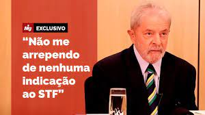 Lula fala - Indicações ao STF - YouTube