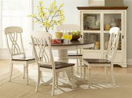 new round kitchen table sets