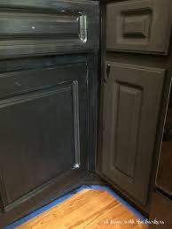 painting kitchen cabinets with chalky finish paint and soft touch varnish