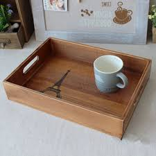natural wood tray design for easy serving ideas trends4us com