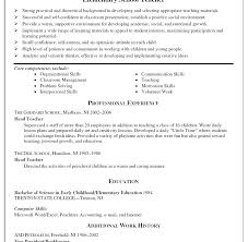 Resume Sample Of A Teacher Image Templates Teaching Sample Examples