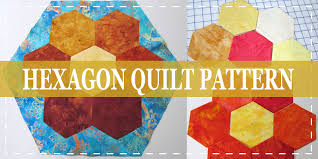 10 Free Layer Cake Quilt Patterns For Beginners & Hexagon Layer cake quilt pattern Adamdwight.com